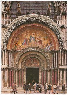 Portal of the St. Mark Basilica, Venice