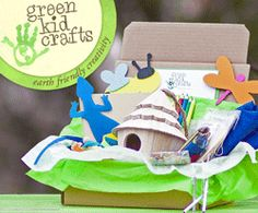 Get 3 fun and planet friendly projects every month when you join Green Kid Crafts. Craft boxes follow a universally-liked theme - think Outer Space, Feathered Friends, Superhero, Royalty, I Love Bugs, and Ocean. Subscriptions start at $19.50/month