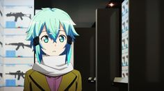 Watch anime online in English. You can watch free series and movies online and English subtitle Sword Art Online, Online Art, Sinon Ggo, Kirito, Shino Sao, Sao Characters, Asada Shino, Good Anime Series, Online Anime