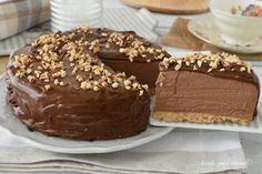 La torta alla nutella senza forno e' un dolce molto fresco e facile da fareche va direttamente in frigo e fara' la felicita' di tutti
