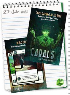 Cabals, le jeu de cartes numérique online débarque sur Android et iOS. C'est l'occasion de vous convertir : www.boardgame.fr#cabals Android, Occasion, Free Games, Card Games, Ios, Board, Gaming, Cards, Playing Card Games