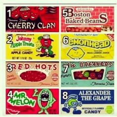Old School Candy...