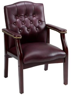 Beau Leather Guest Chair