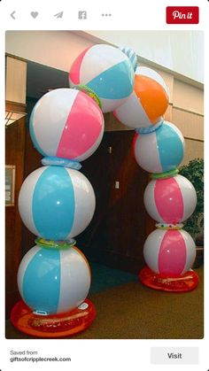 Image result for pool party decorations Graduation Pinterest