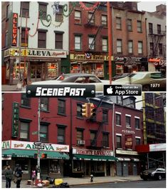 New York Local - Community - Google+ Then And Now Photos, Little Italy, Tv Times, Back In Time, Time Travel, Ricotta, Movies And Tv Shows, Movie Tv, New York