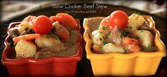 Crock pot beef stew. Yummy!