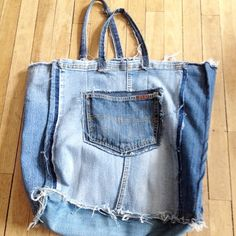 www.elinem.no My bag #relove #jeans #denim #nothingtowaiste #redesign #upcycle #sustainablefashion #imadethis