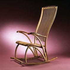 cadeira de balanço clássica