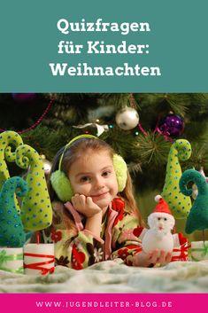 Quizfragen für Kinder: Weihnachten; für Weihnachtsfeier, Kindergarten, Gruppenstunde und Co. Kindergarten, Party, Blog, Christmas Ornaments, Holiday Decor, Anna, Winter, Advent Season, Christmas Time