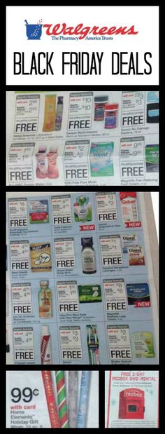 Walgreens Black Friday Ad 2013
