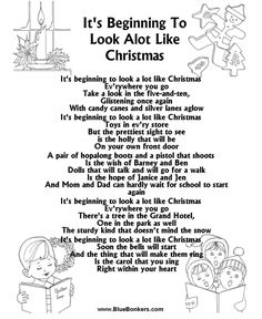 its beginning to look a lot like christmas is a classic christmas tune the song - Christmas Songs For Kids