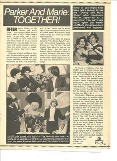 Parker Stevenson, Marie Osmond, Full Page Vintage Pinup Clipping Parker Stevenson, First Crush, Marie Osmond, Might Have, Better Together, Pinup, Handsome, Boys, Vintage