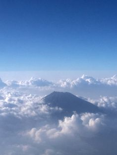 Life upon the sky. Mount Merapi , Yogjakarta from 8300mdpl