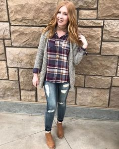 Which means all things fall! Fall photos, Pumpkin Patch, Harvest Festivals, etc! has so many great fall pieces for your events! Fall Photos, Flannel Shirt, Button Downs, Fall Outfits, Autumn Fashion, Plaid, Winter, Jackets, Shopping