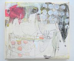 Hanaichimom'me (2010) Mayako Nakamura, Oil on canvas, ink, pigment, charcoal 335x305x45mm