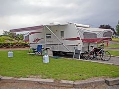 Equally at home at campgrounds and RV parks