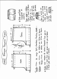 Best 12 Super Ideas sewing shirt pattern little girls – SkillOfKing. Kids Clothes Patterns, Baby Dress Patterns, Kids Patterns, Clothing Patterns, Short Bebe, Short Niña, Boys Fashion Dress, Fashion Dress Up Games, Sewing Shorts