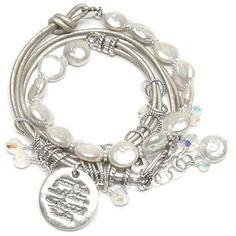 Metallic Muse Bracelet by Layla Grace --pretty, sparkly, bangly! :)