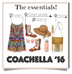 """Pack for Coachella"" by kendraborneman ❤ liked on Polyvore featuring Betani, Steve Madden, River Island, CamelBak, Sun Bum, Camilla and packforcoachella"