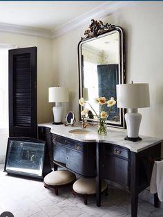 Darryl Carter Bathroom vanity chest credenza #drdbathrooms