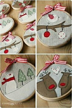 Conjunto bastidores navidad