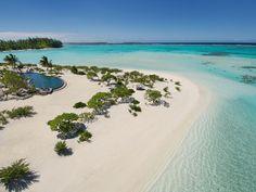 L'hôtel The Brando sur l'atoll Tetiaroa à Tahiti voyage de rêve luxe noces eau turquoise