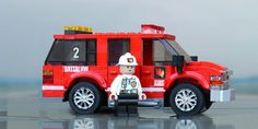 Lego City Sets, Lego Sets, Lego Fire, Lego Vehicles, Wrangler Shirts, Lego Stuff, Fire Engine, Big Trucks, Bricks
