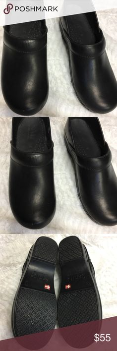 c46b24d380ce Sanita Nursing Clogs Black Size 39