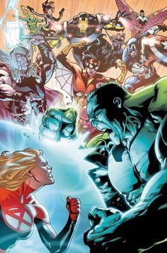 #Hulk #Fan #Art. (Fantastic Four Vol.5 #7 Cover) By: Leonard Kirk. (THE * 5 * STÅR * ÅWARD * OF: * AW YEAH, IT'S MAJOR ÅWESOMENESS!!!™)