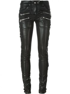 FAITH CONNEXION - Lace-Up Biker Pant - W5505D38000 BLACK - H. Lorenzo