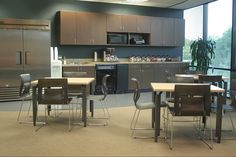 Presidential Financial - break room - offices done by Facilitec
