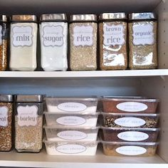 Organize your pantry for less with these dollar store DIY pantry organization ideas. These organizing ideas are perfect for small pantries to help you maximize your space. There are cheap pantry organization and storage ideas for cans, jars, spices, snacks and much more! Diy Spice Rack, Magnetic Spice Racks, Small Kitchen Organization, Spice Organization, Organizing Ideas, Canned Good Storage, Pantry Labels, Diy Kitchen, Kitchen Cabinets