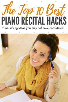147 Best Piano Recital Ideas images in 2019 | Piano recital, Piano