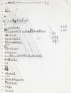 Harry Mathews, manuscript, 1990, Fonds Oulipo, Dossiers mensuels de réunion (1960-2010)