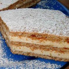 143058_2 Hungarian Desserts, Hungarian Cake, Hungarian Recipes, Cookie Recipes, Dessert Recipes, Delicious Desserts, Yummy Food, Sweet Cookies, Sweet And Salty