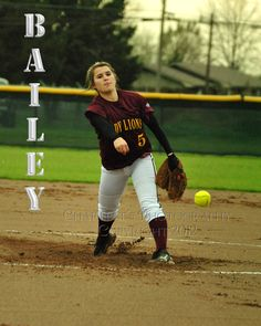 New Boston Lady Lion, #5 Bailey Day is a junior pitcher