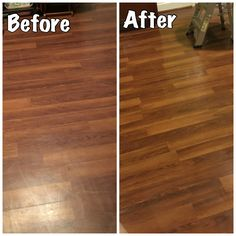 How To Make Floors Shine Without Wax Cleaning Pinterest - How to wax a floor without a buffer