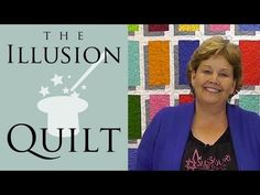 Illusion Block Quilt - Easy Quilting Tutorial from Jenny Doan & Missouri Star - YouTube