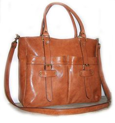 maybe something like this for a diaper bag...but it's hard to know without getting to touch the leather...