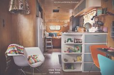 Joy Prouty and her family travel in this adorable trailer. 25 Stunning Trailers: Homes with 4 Wheels