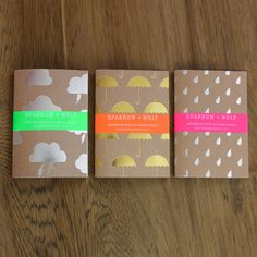 I love this fun set of three notebooks with gold and silver weather designs from the Tate shop – gold foil umbrellas, silver raindrops and silver rainclouds. A perfect as a stocking filler, a small gift or a place to write your rainy day thoughts. £12.50 for 3