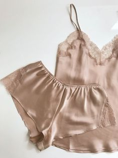 { too-good-to-be-true underpinnings: Journelle Giveaway } — Dallas Shaw Cute Sleepwear, Lingerie Sleepwear, Satin Pajamas, Pyjamas, Cute Lazy Outfits, White Underwear, Pajama Outfits, Fashion Tights, Lingerie Collection