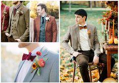 estilo novio otoño traje 2