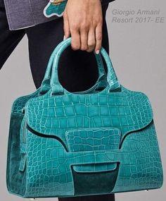Blue-crocodile handbags for sale Fashion Handbags, Fashion Bags, Fashion Accessories, Fashion Beauty, Beautiful Handbags, Beautiful Bags, My Bags, Purses And Bags, Leather Handbags