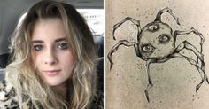 This Girl With Schizophrenia Draws Her Hallucinationscopes To Cope With It