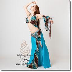 Sahar Okasha オリエンタル衣装 20sa02_02_blleo | ★オリエンタル衣装【Sahar Okasha】 | | ベリーダンス衣装・通販 Fig