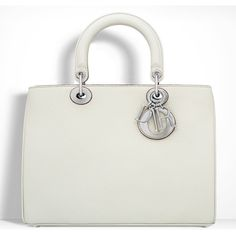 White Tote Bag, White Handbag, Tote Purse, Tote Handbags, Summer Tote Bags, Lady Dior, Christian Dior, Summer 2016, Purses