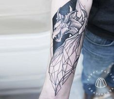 Dragon tattoo by Pavla Poppy