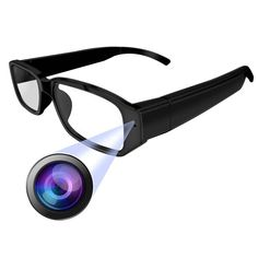 1749da66e614 Discounted KKmoon Hidden Camera Spy Camera DV Eyewear Camcorder Smart  Eyeglasses Video Audio Recorder Optical Eyeglass Windproof Digital Cam  Wireless ...