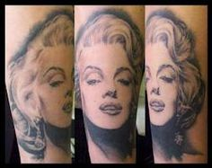 marilyn monroe tattoos - Google Search